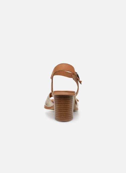 Sandali e scarpe aperte Karston LIFLO Marrone immagine destra
