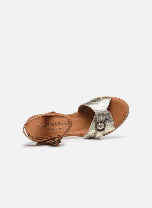 Sandali e scarpe aperte Karston LIFLO Marrone immagine sinistra