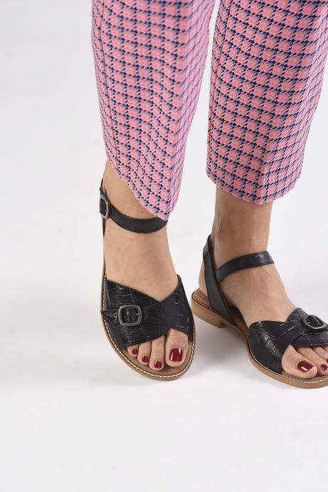 Sandali e scarpe aperte Karston XABER Nero immagine dal basso