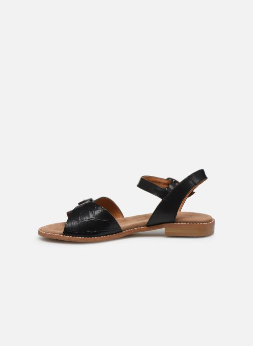 Sandali e scarpe aperte Karston XABER Nero immagine frontale