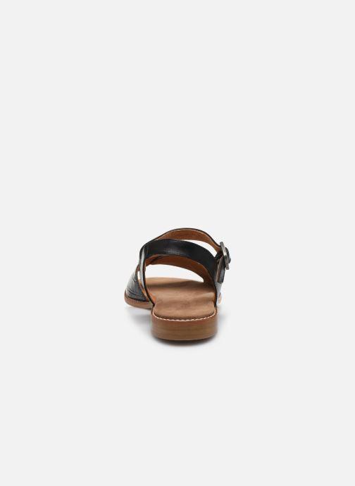 Sandali e scarpe aperte Karston XABER Nero immagine destra