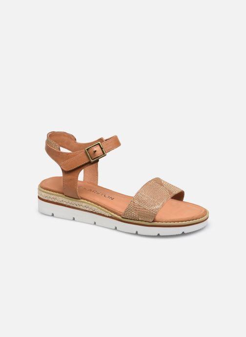 Sandales et nu-pieds Karston KIKIN Marron vue détail/paire