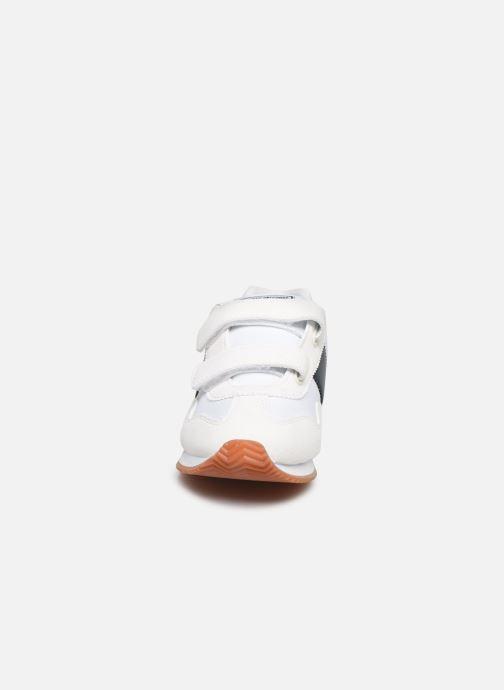 Baskets Polo Ralph Lauren Big Pony Jogger Ez Blanc vue portées chaussures