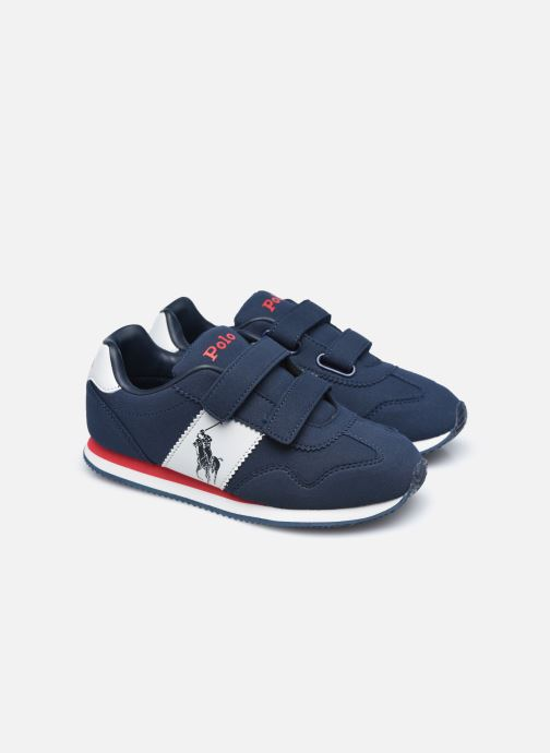 Sneakers Polo Ralph Lauren Big Pony Jogger Ez Blauw 3/4'