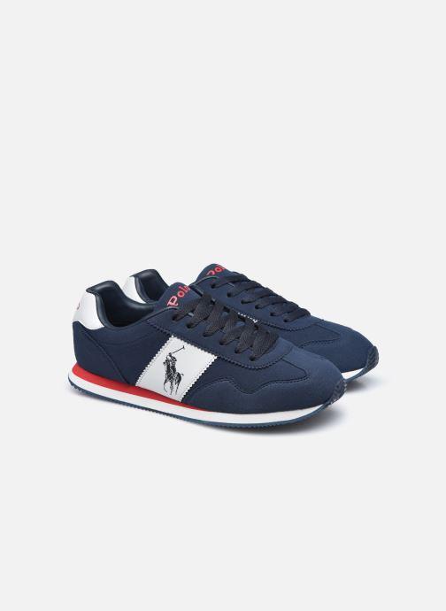 Sneakers Polo Ralph Lauren Big Pony Jogger Blauw 3/4'
