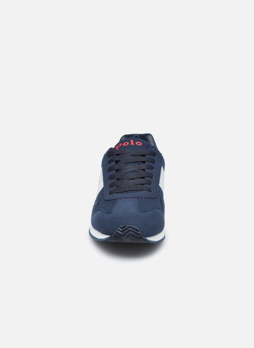 Baskets Polo Ralph Lauren Big Pony Jogger Bleu vue portées chaussures