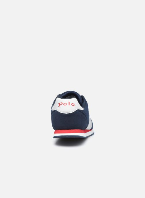 Sneakers Polo Ralph Lauren Big Pony Jogger Blauw rechts