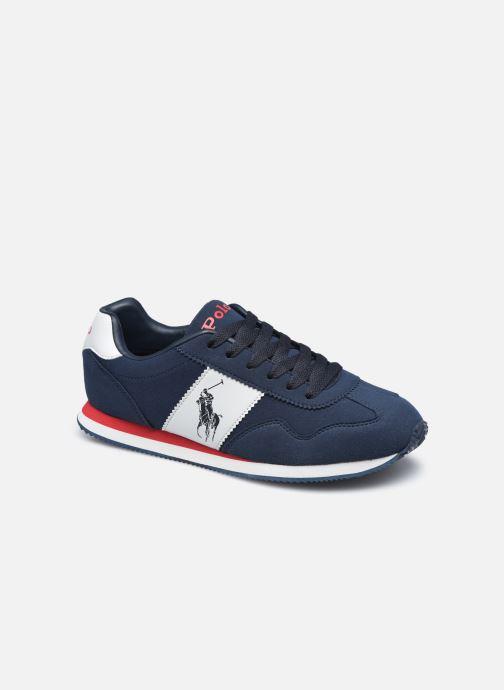 Sneakers Polo Ralph Lauren Big Pony Jogger Blauw detail