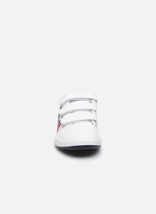 Baskets Polo Ralph Lauren Oaklynn Ez Blanc vue portées chaussures