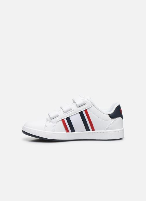 Baskets Polo Ralph Lauren Oaklynn Ez Blanc vue face