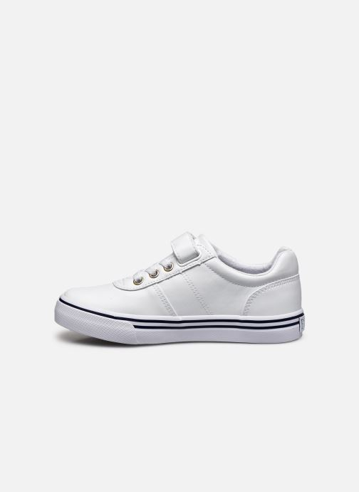 Baskets Polo Ralph Lauren Hanford III Ps Blanc vue face