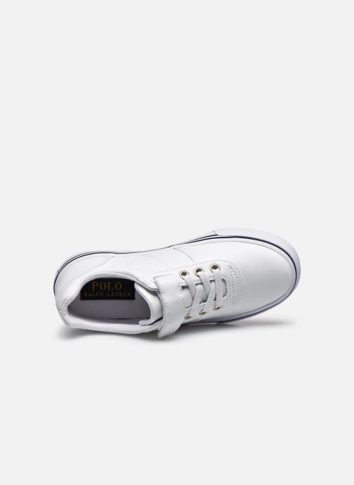 Baskets Polo Ralph Lauren Hanford III Ps Blanc vue gauche