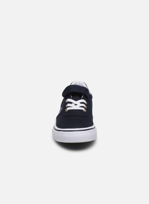 Sneaker Polo Ralph Lauren Hanford III Ps blau schuhe getragen