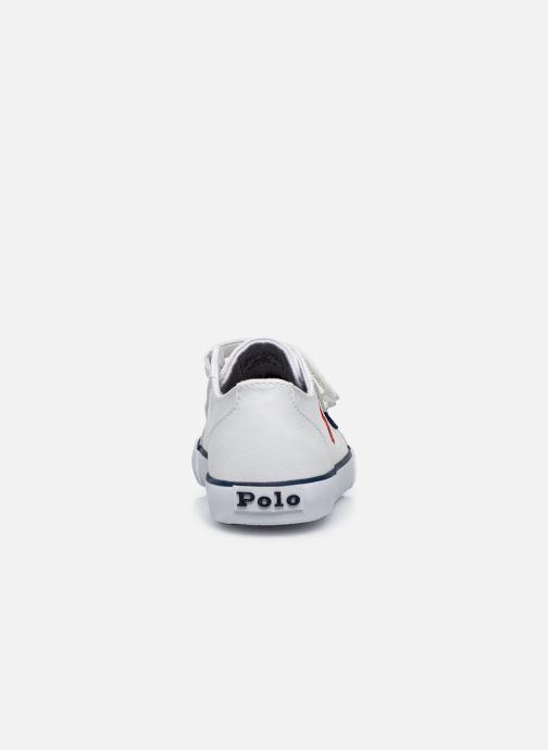 Baskets Polo Ralph Lauren Danyon EZ Blanc vue droite