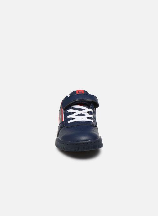 Baskets Polo Ralph Lauren Keelin PS Bleu vue portées chaussures