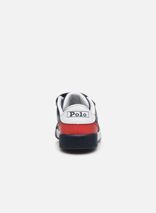 Baskets Polo Ralph Lauren Keelin PS Bleu vue droite