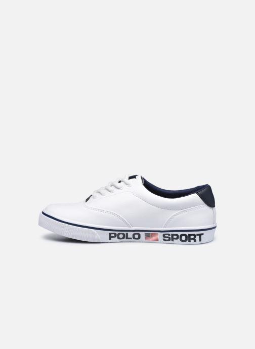 Sneakers Polo Ralph Lauren Thornton Wit voorkant