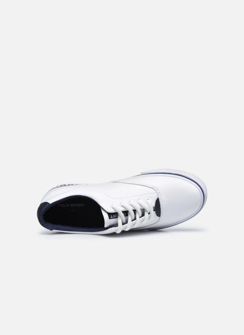 Sneakers Polo Ralph Lauren Thornton Wit links