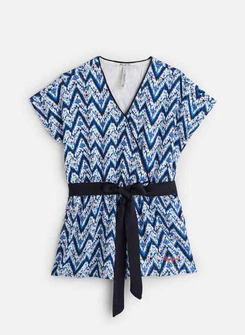 Vêtements Pepe jeans Clea Bleu vue détail/paire