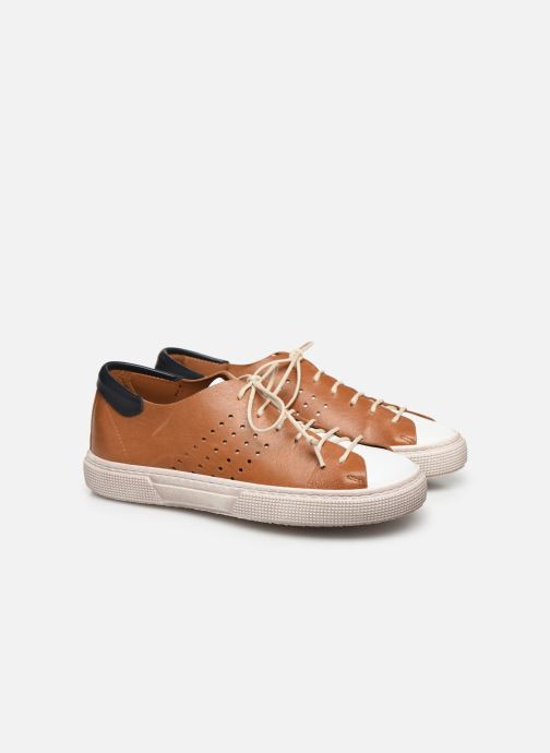 Sneakers PèPè Baskets-Nevada Tabacco Marrone immagine 3/4