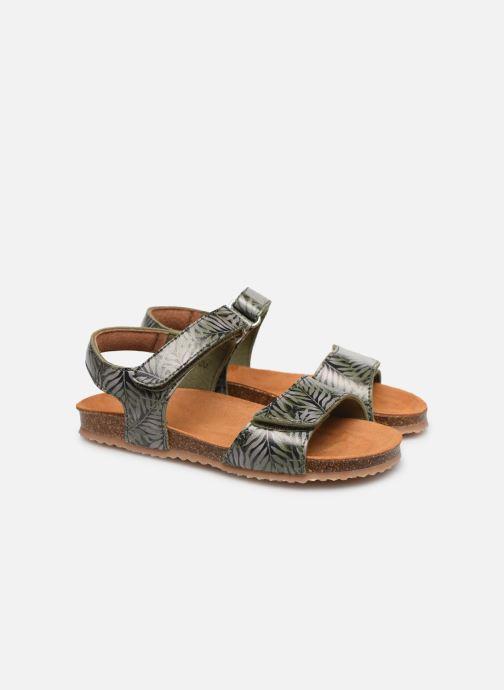 Sandali e scarpe aperte PèPè Sandales-Jungle Verde immagine 3/4