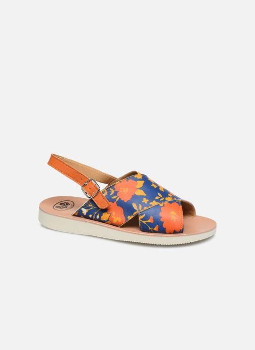 Sandales-Heritage Fiori Arancio