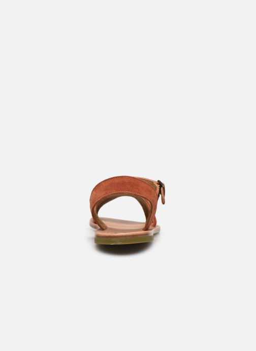 Sandali e scarpe aperte PèPè Sandales-Terra/Oro/Confetto Multicolore immagine destra