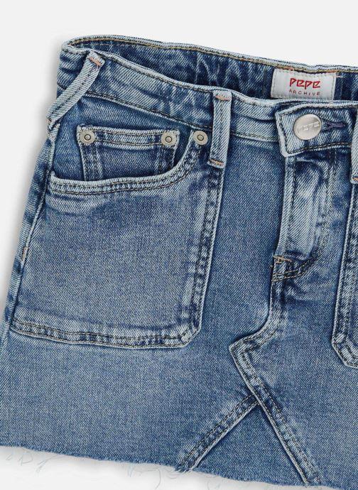 Vêtements Pepe jeans Millie Worker Bleu vue portées chaussures
