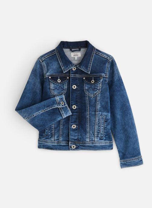 Kleding Pepe jeans New Berry Blauw detail