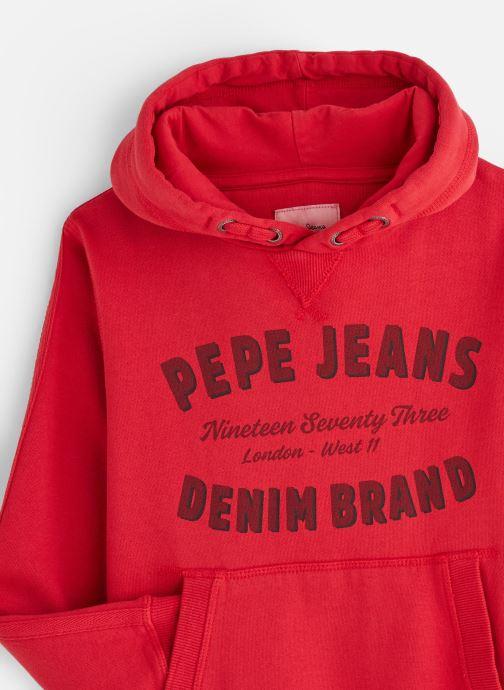 Vêtements Pepe jeans Stevens Rouge vue portées chaussures