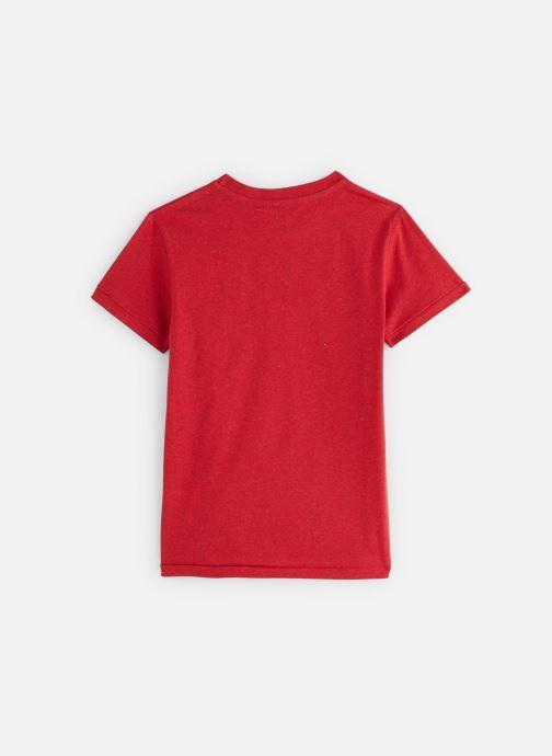 Vêtements Pepe jeans Trico Rouge vue bas / vue portée sac