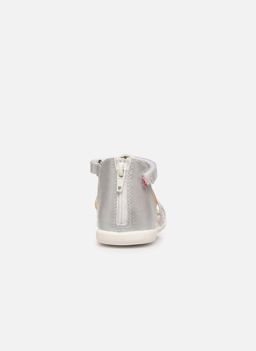 Sandales et nu-pieds NA! Argoli Multicolore vue droite