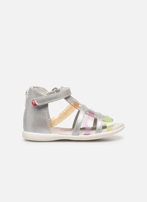 Sandales et nu-pieds NA! Argoli Multicolore vue derrière