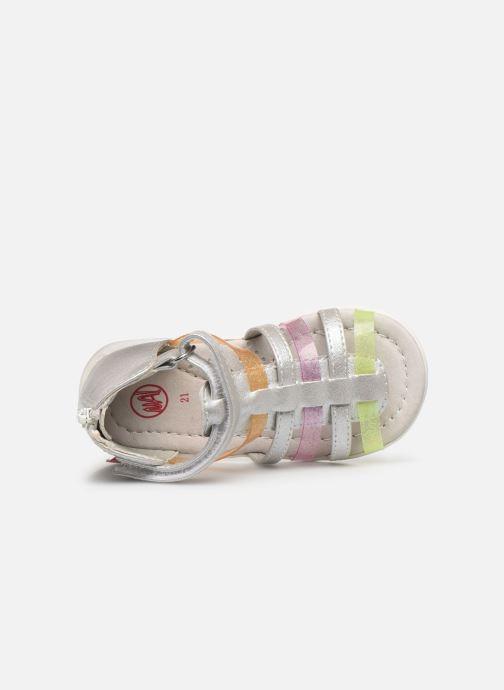Sandales et nu-pieds NA! Argoli Multicolore vue gauche