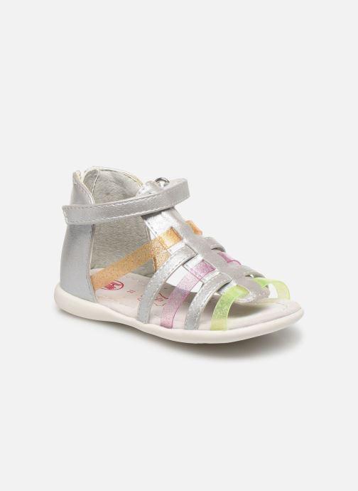 Sandales et nu-pieds NA! Argoli Multicolore vue détail/paire