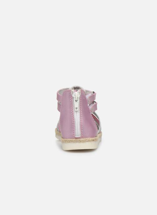 Sandalen NA! Adelina rosa ansicht von rechts