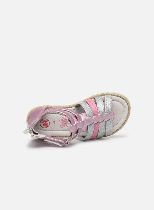 Sandalen NA! Adelina rosa ansicht von links