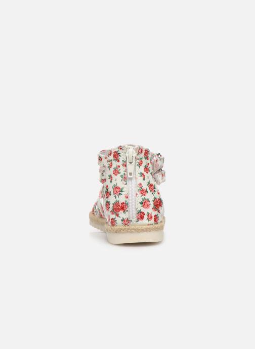 Sandales et nu-pieds NA! Adelina Blanc vue droite