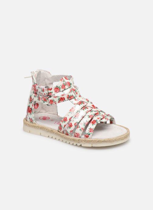 Sandales et nu-pieds NA! Adelina Blanc vue détail/paire