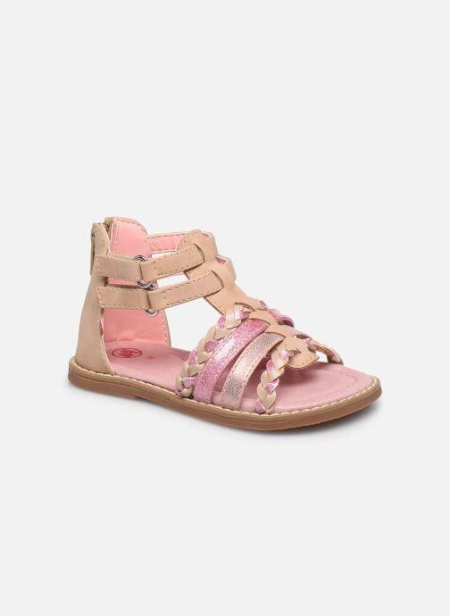 Sandales et nu-pieds NA! Aimable Rose vue détail/paire