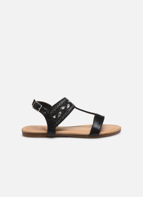 Sandales et nu-pieds NA! Samos Noir vue derrière