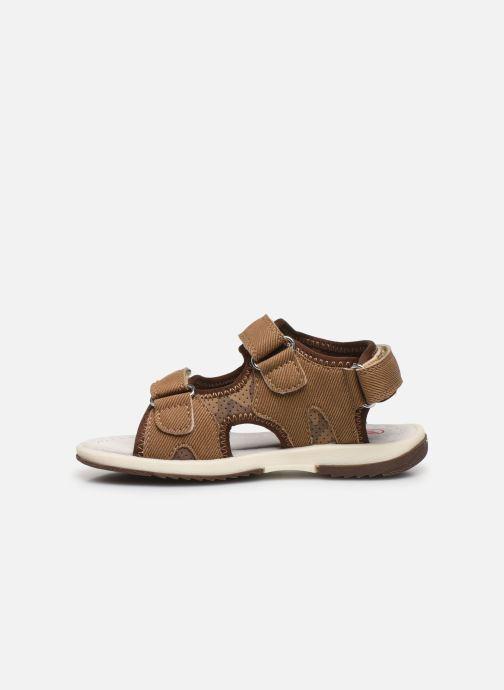 Sandales et nu-pieds NA! Achat Marron vue face