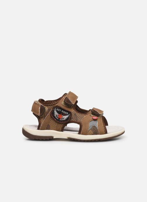 Sandales et nu-pieds NA! Achat Marron vue derrière