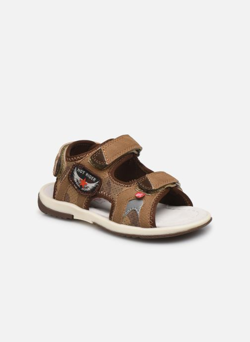 Sandales et nu-pieds NA! Achat Marron vue détail/paire