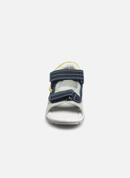 Sandali e scarpe aperte NA! Agris Azzurro modello indossato
