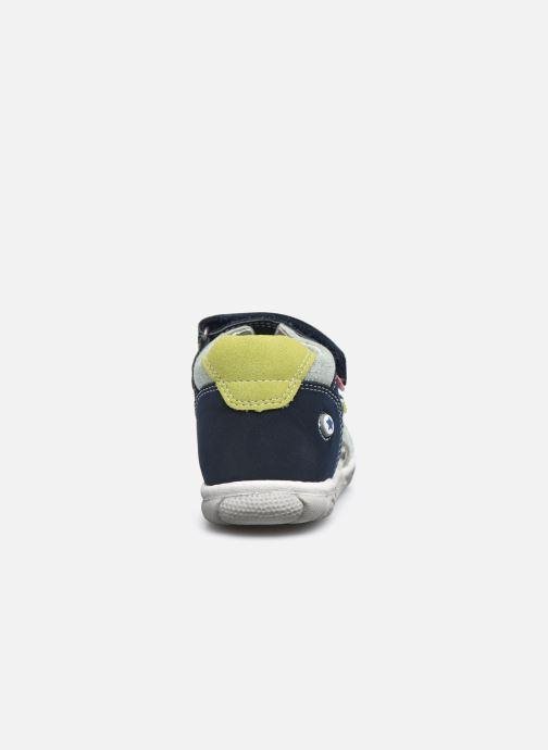 Sandalen NA! Agris blau ansicht von rechts