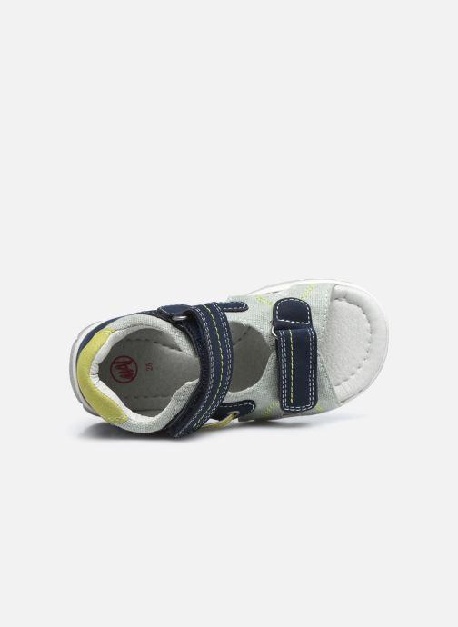 Sandali e scarpe aperte NA! Agris Azzurro immagine sinistra