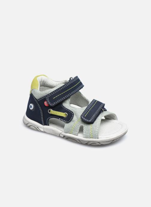 Sandales et nu-pieds NA! Agris Bleu vue détail/paire