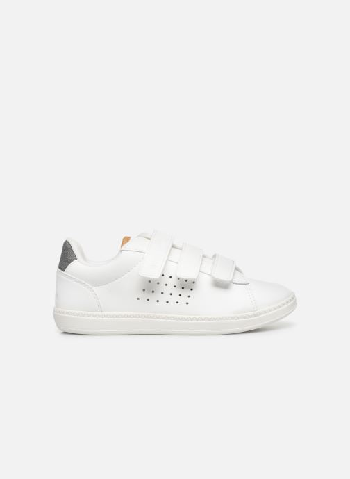 Sneakers Le Coq Sportif Courtstar Ps Denim Wit achterkant