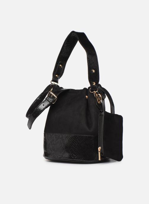 Handtaschen I Love Shoes BAFIL schwarz schuhe getragen